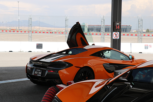 McLaren 570S at Exotics Racing Las Vegas