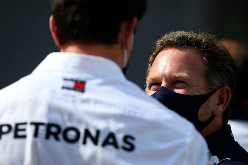 Red Bull takes the Mercedes F1 fight off-track