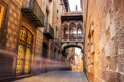 Barri Gotic quarter, Barcelona
