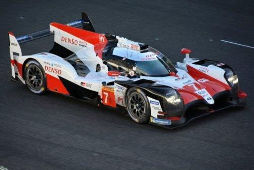 Toyota LMP race car