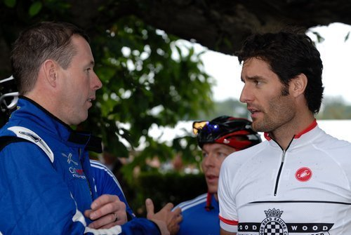 Collin McRae and Mark Webber