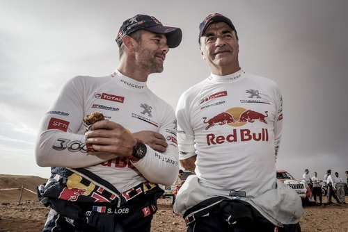 Sebastien Loeb and Carlos Sainz Sr