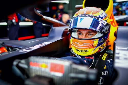 Alex Albon Red Bull